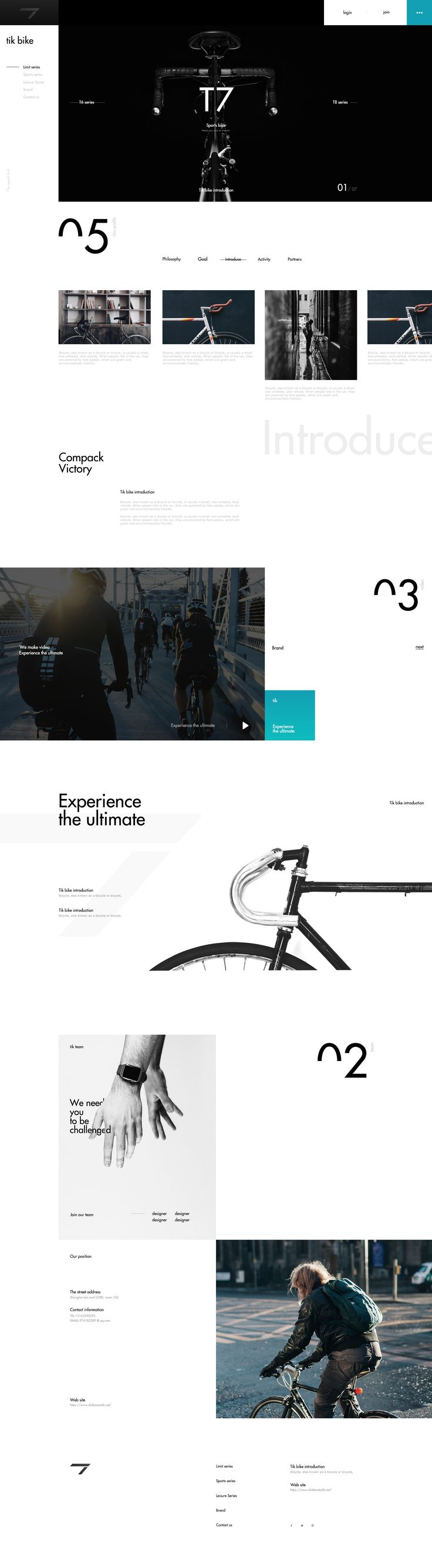 TIK Bike on Behance