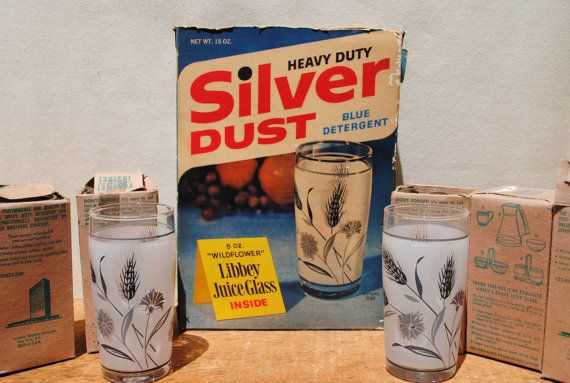 50 S Libbey Glasses They Came In Boxes Of Silverdust