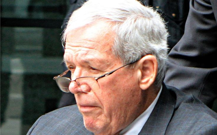 Former U.S. Speaker of the House Dennis Hastert leaves the Dirksen Federal courthouse after his sentencing hearing in Chicago, Illinois, United States April 27, 2016. The National Wrestling Hall of Fame on May 2, 2016 revoked all awards bestowed upon former U.S. House Speaker Dennis Hastert after he admitted in court to sexually abusing students years ago when he was a high school wrestling coach.