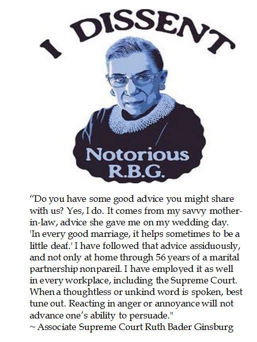 Ruth Bader Ginsburg on Temperament                                                                                                                                                                                 More