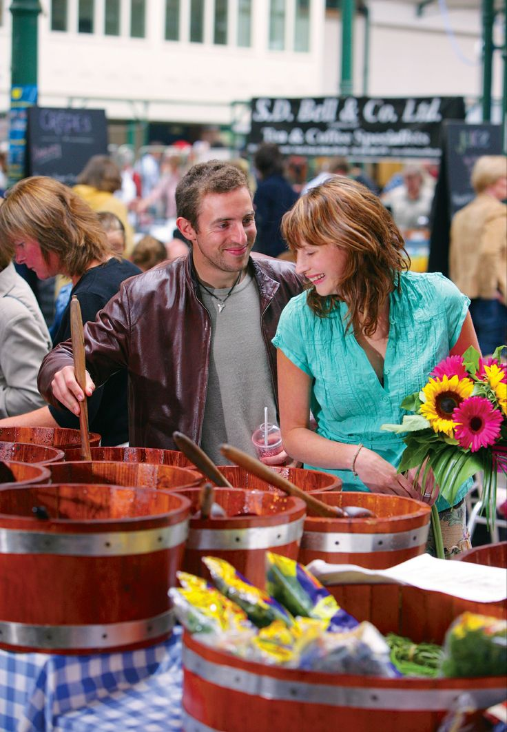 Indulge in local cuisine straight from the lush farms of Northern Ireland at the popular St. Georges Market in Belfast.