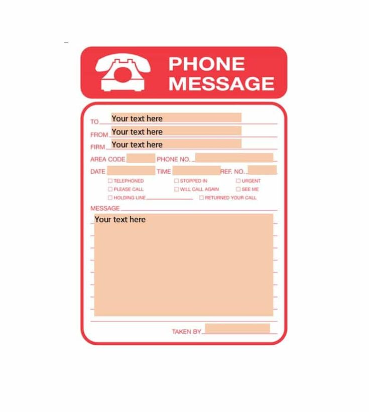 The 25+ best Phone messages ideas on Pinterest Funny texts - phone message template