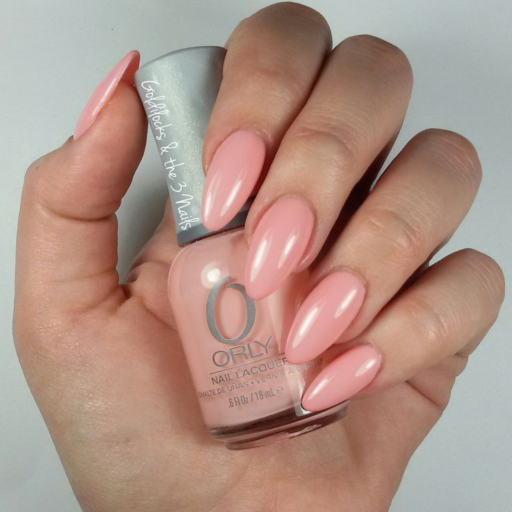 Orly | Lift the Veil | Gel Nails | Almond Nails | Pink Nails