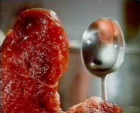 "from Jan Svankmajer's ""Meat Love"""