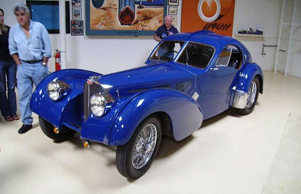 25 incredible cars from jay leno 39 s car collection1937 bugatti type 57 sc. Black Bedroom Furniture Sets. Home Design Ideas