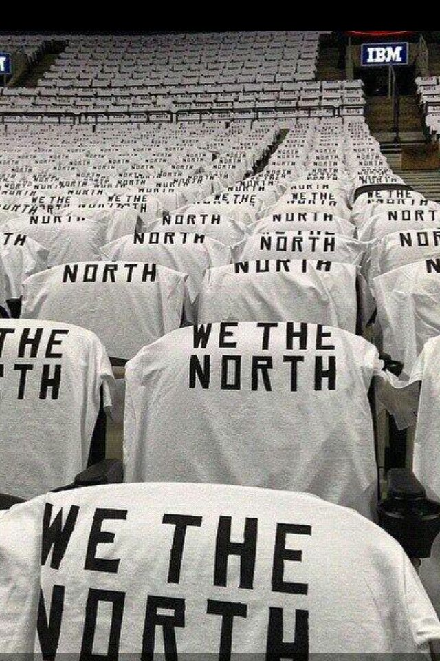 "Toronto Raptors ""We The North"""
