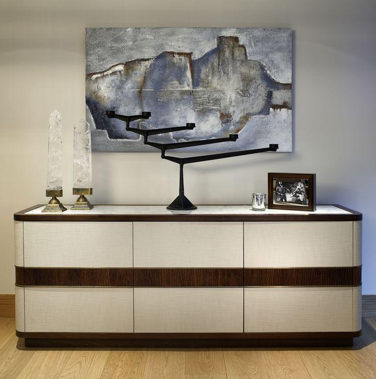 Chelsea, London   Luxury Interior Design  Entrance Hall   Cabinet