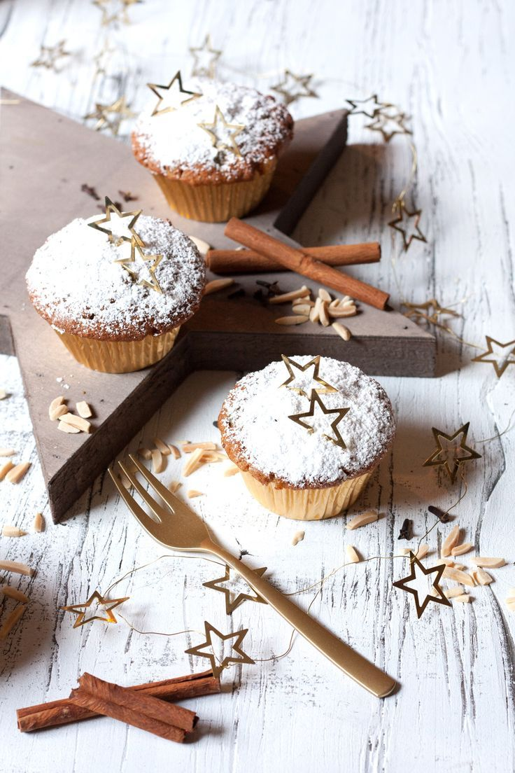Stollen Muffin Rezept #Weihnachtsgebäck #Weihnachten #Küchenplausch