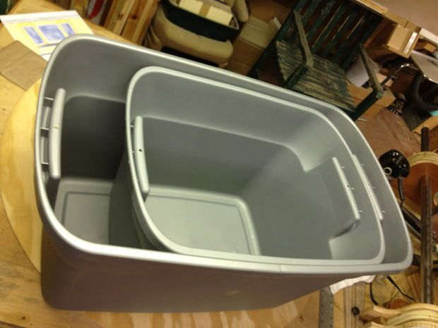 diy dog proof litter box | This project requires very little in materials and tools to complete ...