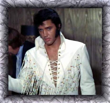*ELVIS* Saw him twice in person, once from the 10th row. This was the Elvis that ruined me for life - haven't found a man that comes even close to this one in the jumpsuit and OMGawd when he put on the shades I was a puddle of goo. hehehe