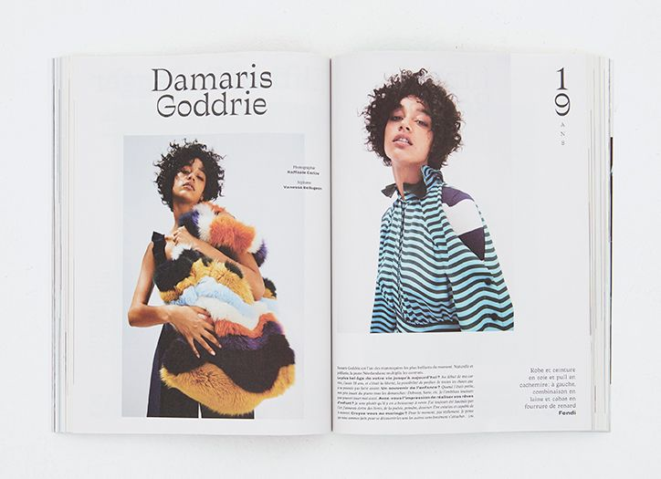 Parisian upstarts III-Studio give L´Officiel magazine new life