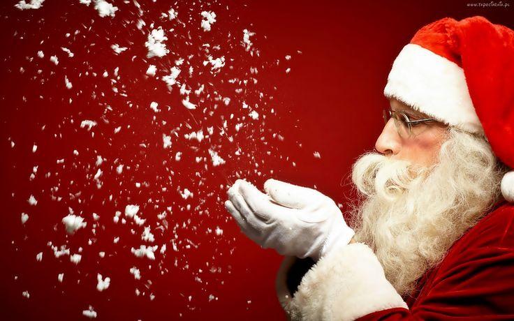 Mikołaj, Płatki, Śniegu