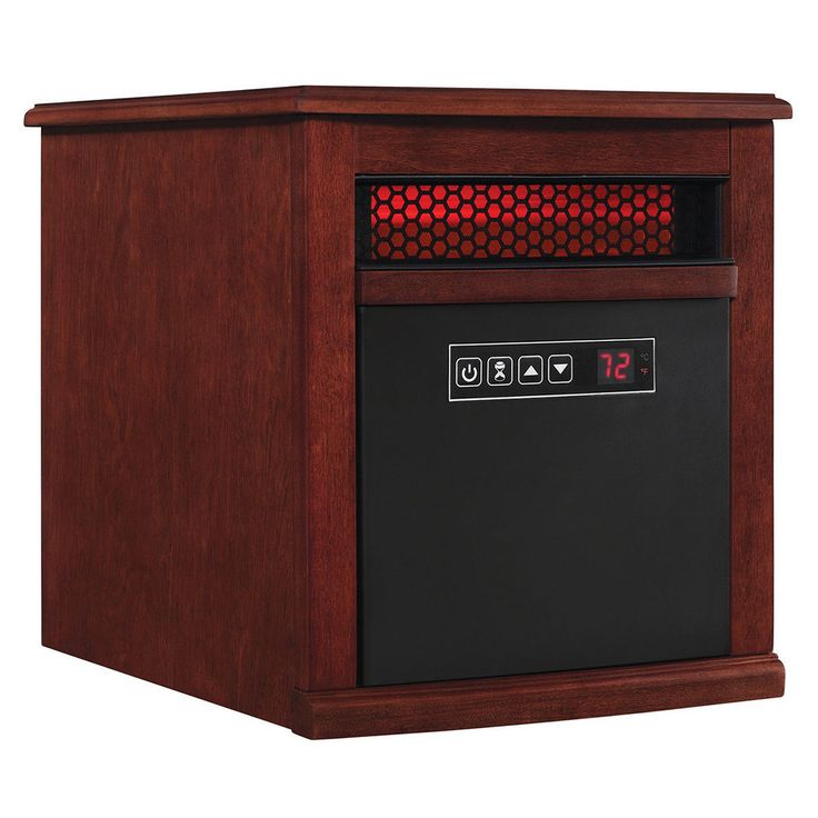 Duraflame Portable Electric Infrared Quartz Heater Adjustable Thermostat Remote