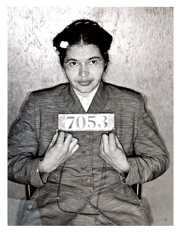 """Rosa Parks --- Rosa Louise McCauley Parks was an African-American Civil Rights activist, whom the United States Congress called """"the first lady of civil rights"""" and """"the mother of the freedom movement"""". Wikipedia"""