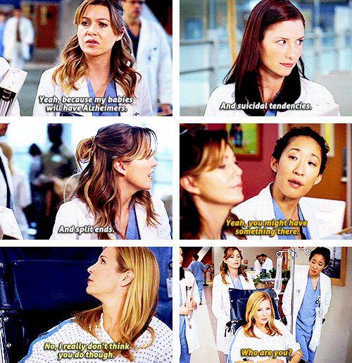 Grey's Anatomy Season 5. Hahaha I love Meredith & Cristina :)