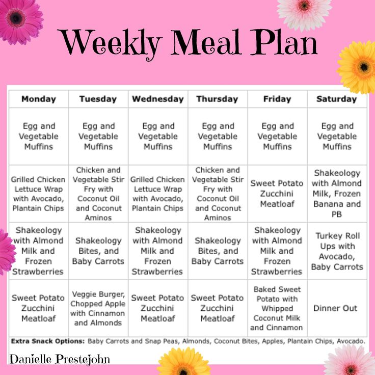 Dine healthfully for a full 7 days using this clean eating meal plan that employs just 20 ingredients plus pantry staples for all your meals and snacks to help you prep fast and stay on budget.