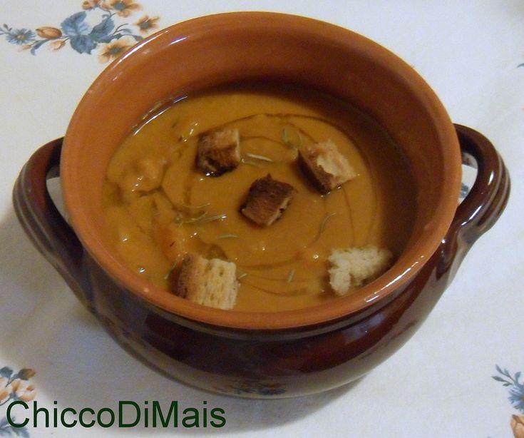 Zuppa di fagioli e zucca ricetta autunnale Il chicco di mais