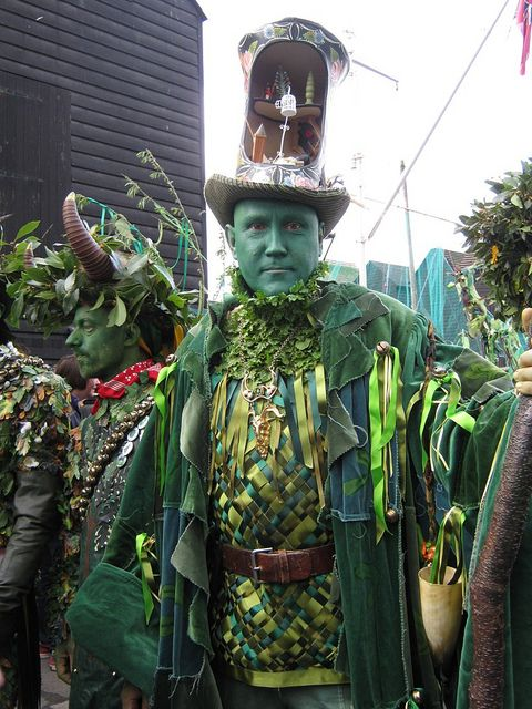 Jack in the Green Fest, Hastings. Simon Costin (Director, Museum of British Folklore)