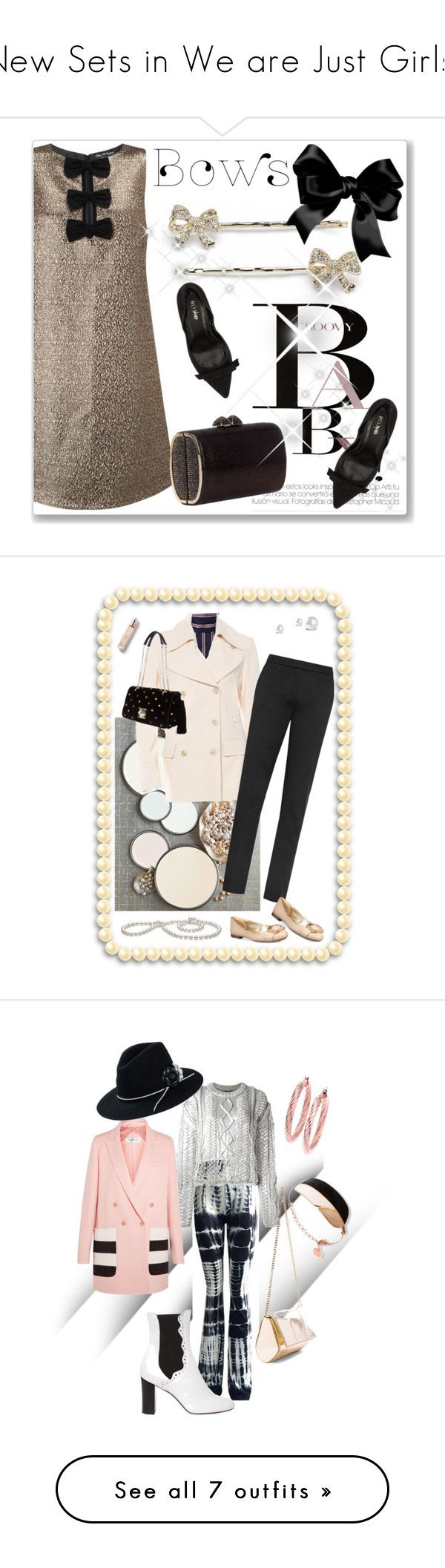 """""""New Sets in We are Just Girls!"""" by ragnh-mjos ❤ liked on Polyvore featuring contest, outfits, November, Miss Selfridge, LC Lauren Conrad, Jimmy Choo, Nly Shoes, bows, Le Sarte Pettegole and Maison Margiela"""