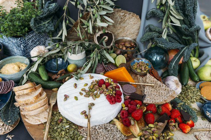 Grazing Table for Melbournes Flower & Garden Show, 2017
