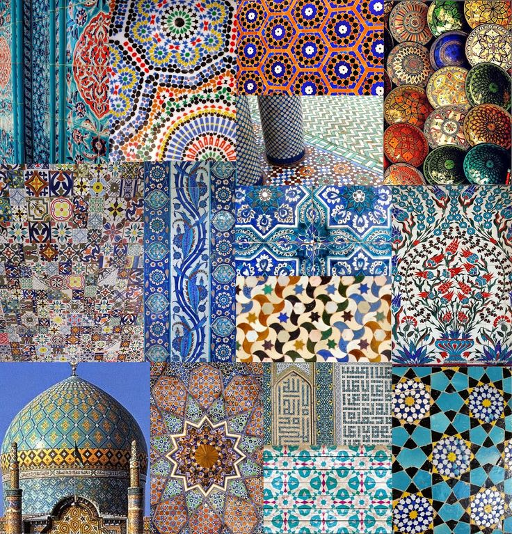 #Tuesdaytrend Moroccan tile print trend for S/S 2015