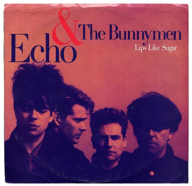 Lips Like Sugar b/w Rollercoaster Echo & The Bunnymen, Sire Records/USA (1987)