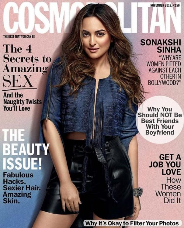 Damn I m gonna buy this issue #sonakshisinha