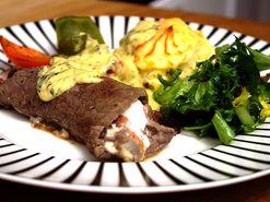 Oxfilé med squashkaka och sås (kock Lejla - Mjölby)