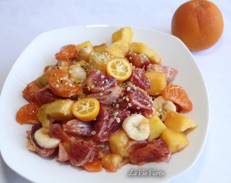 Salata de fructe exotice