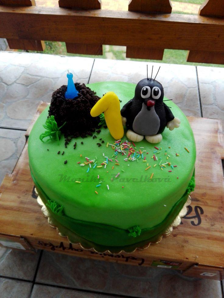 Little mole CAKE. DORT Krtek.