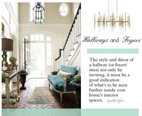 Simple Interior Concepts How To Style An Entrance Hallway Foyer Decorating Tips