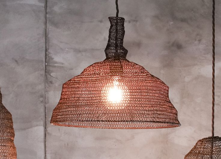 Jatani Wire Lampshade Conical | Home and Lifestyle | Nkuku