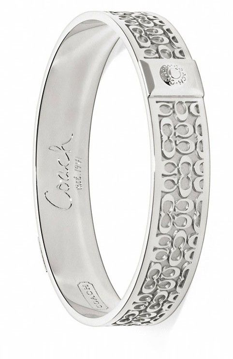 Coach Signature Bangle ♥✤ | Keep the Glamour | BeStayBeautiful