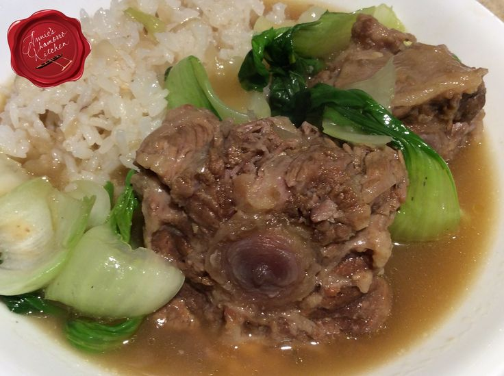Don't let the name of this dish turn you off.  Oxtail, as the name describes, was commonly the meaty part of the tail of an ox.  Nowadays, they are cut from the tails of cattle.  Oxtail is qu…