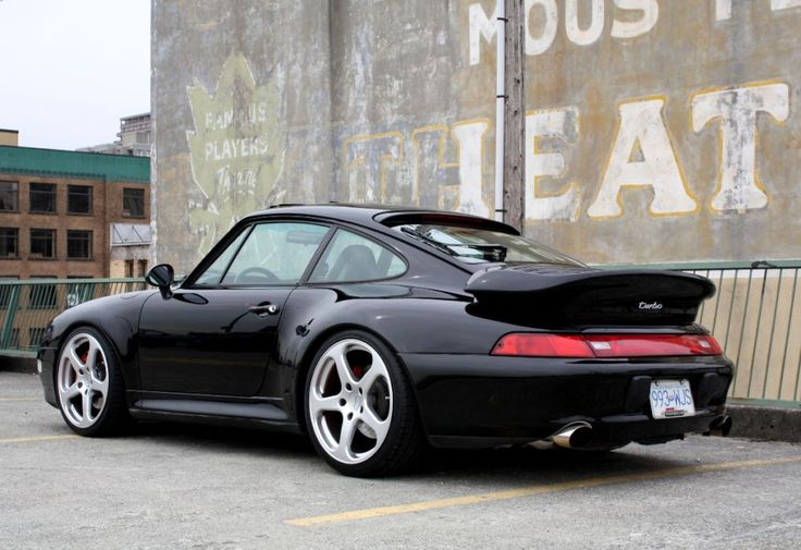 Porsche 911 Turbo (993). (Click on photo for high-res. image.)