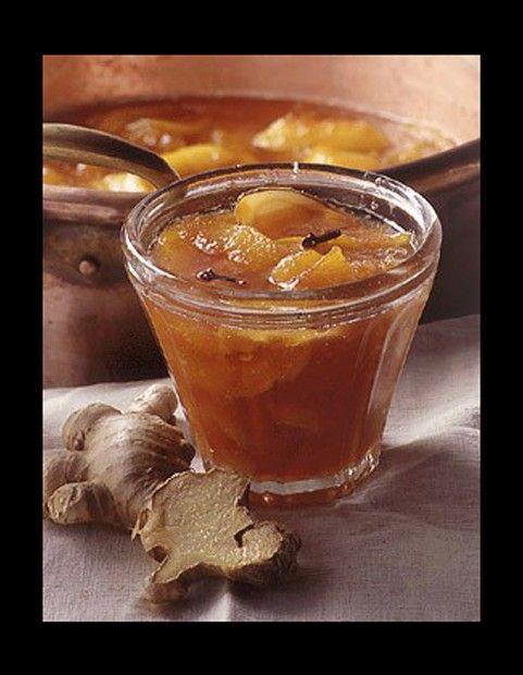 Abricots et brugnons au gingembre - 50 confitures à faire soi-même