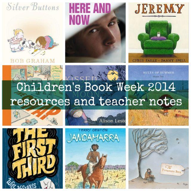 Children's Book Week 2014 resources and teacher notes