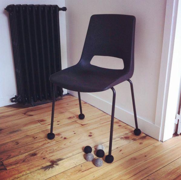 patin de chaise silent socks #mobiliervintage
