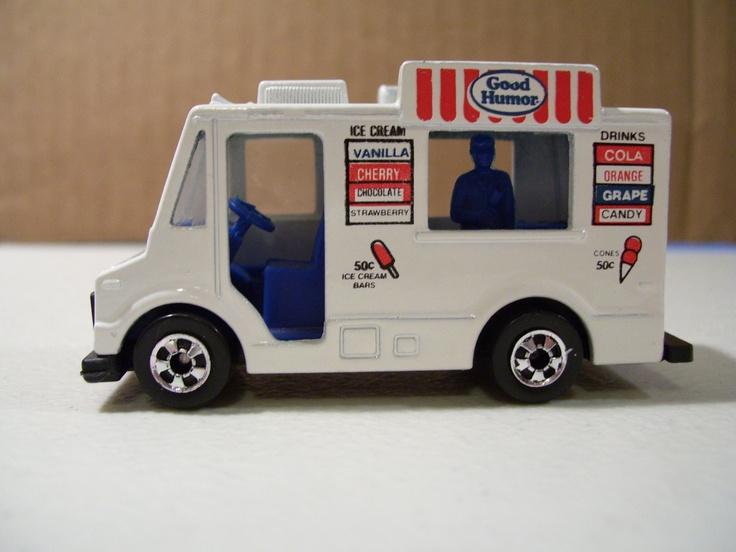 1983 Hot Wheels Good Humor Ice Cream Truck Diecast,. $6.95, via Etsy.