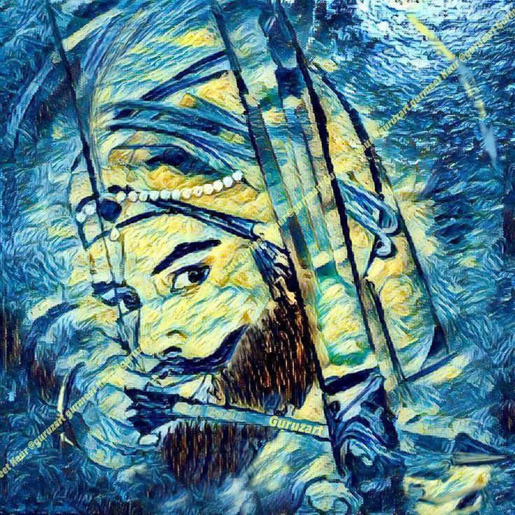 "GURU GOBIND SINGH JI ""Kartaar Ki Saugandh Hai,Nanak Ki Kasam Hai Jitni Bhi Ho GOBIND Ki Tareef Voh Kumm Hai"" ਕਰਤਾਰ ਕੀ ਸੌਗੰਦ ਹੈ, ਨਾਨਕ ਕੀ ਕਸਮ ਹੈ । ਜਿਤਨੀ ਭੀ ਹੋ ਗੋਬਿੰਦ ਕੀ ਤਾੱਰੀਫ਼ ਵੁਹ ਕਮ ਹੈI करतार की सौगन्द है, नानक की कसम है । जितनी भी हो गोबिन्द की तार्रीफ़ वुह कम है । #gurugobindsinghji #allahyarkhanjogi #sikh #sikhism #shabad #goldentemple #ekonkar #satnaam #waheguru #sikhgurus #baani #meditation #faith #god #guru #spiritual #punjabi #instapunjabi #divine #kaur #singh #sikhart #art #guruzart…"