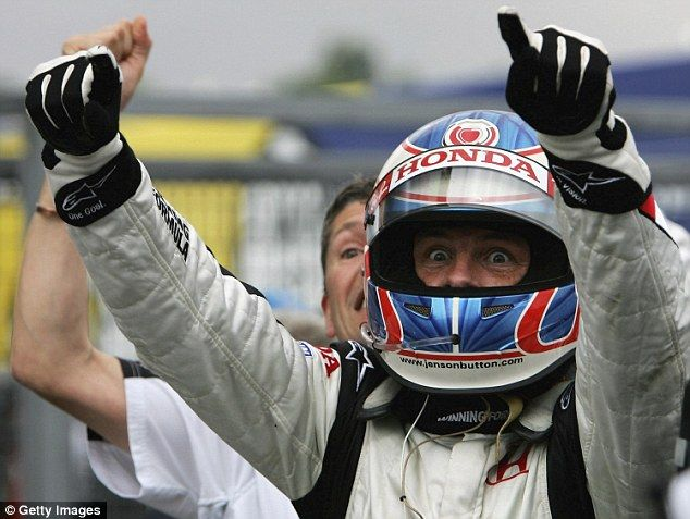Button rejuvenated his career after moving to BAR in 2003, and once the team morphed into Honda he took his first race win at the 2006 Hungarian Grand Prix