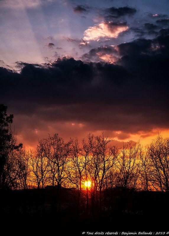 Sunset - Benjamin Ballande