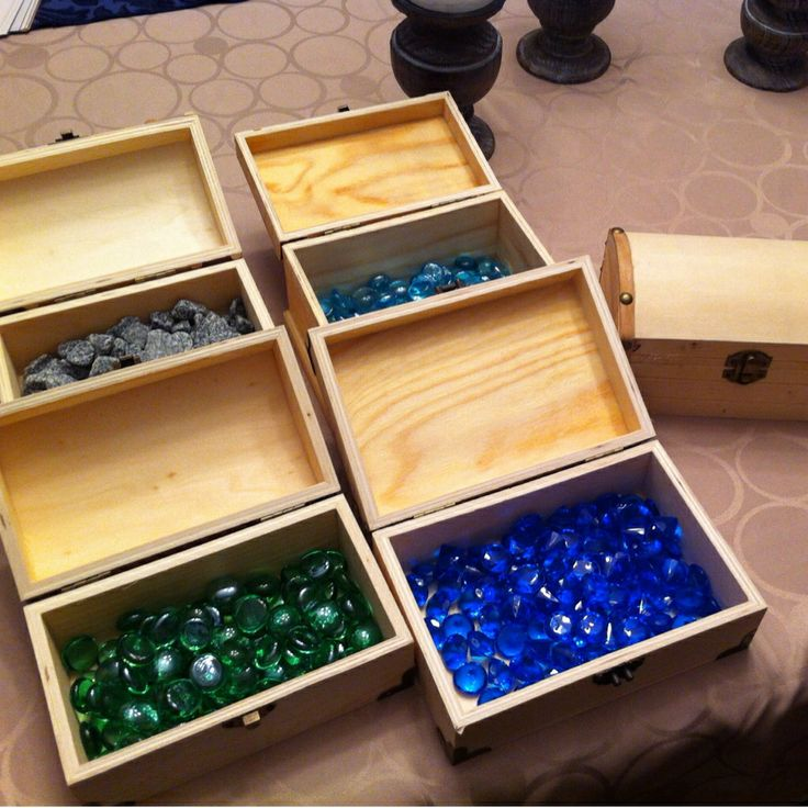 Minecraft math thinking tools. I bought plastic jewels from the Dollarama store and filled each wooden chest with one hundred jewels for students to organize. Students will work in pairs to roll dice, multiply the two numbers rolled, create an array, and multiply and divide the numbers.