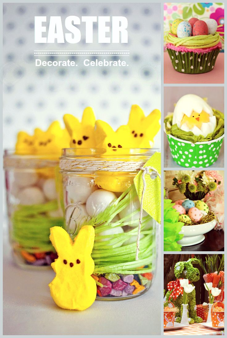 Our best Easter decorating ideas, entertaining tips, and recipes from HGTV.com-->  http://hg.tv/x5p0: Edible Terrarium, Chocolates Rocks, Candy Eggs, Easter Baskets Ideas, Gifts Tags, Mason Jars, Easter Basket Ideas, Edible Easter, Edible Grass