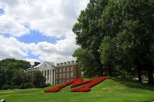 I am so honored that my niece asked me to go with her to the UMD Spring Open House for Admitted Students. I'd love for her to go to school so close to me. Just a little concerned about basketball season. [The M Circle by University of Maryland, College Park, via Flickr]