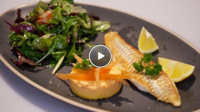 Sformatino di carote con sogliola (worteltaartje met scholfilet) - recept | 24Kitchen