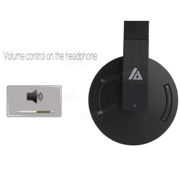 Artiste ADH500 2.4G HiFi Stereo Wireless TV Headphone With Digital Output Converter For PC TV Sale - Banggood.com