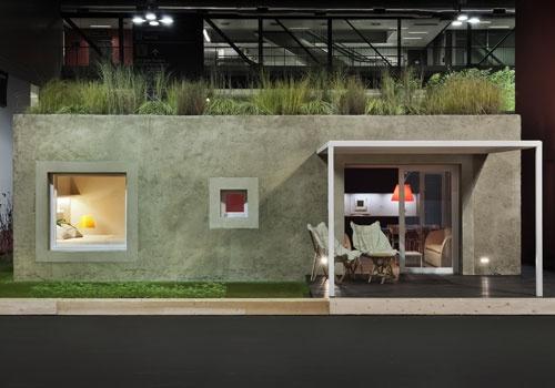 Equilibrium e Aldo Cibic per il Made Expo 2012- Casa in calce canapa