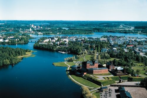 Hameenlinna, Finland!  Such a lovely place, filled with lovely people!