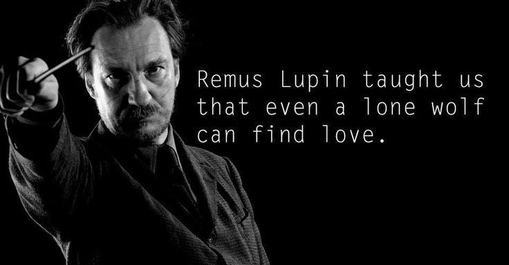 Remus Lupus lærte os at selv en ensom ulv kan finde kærlighed.